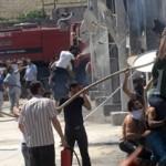 เพลิงวอดค่ายผู้ลี้ภัยซีเรีย