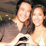 ไบรโอนี่ควงสามีกลับไทย